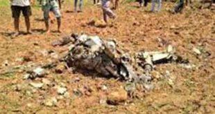 ভেঙ্গে পড়ল ভারতীয় যুদ্ধ বিমান, নিখোঁজ পাইলট